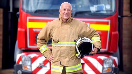 On-call firefighter John Last has been awarded a BEM for his volunteer work at Leiston Fire Station