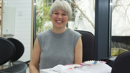 Bridget McIntyre jas been made an MBE for her work in helping women in Suffolk Picture: SARAH CHAMB