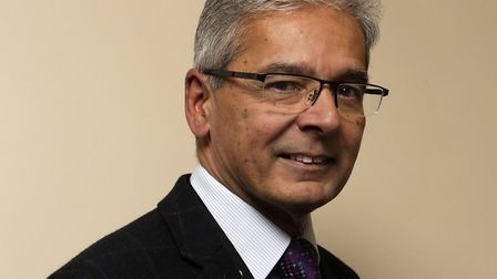 Professor Gerry Rayman has been made an MBE Picture: IPSWICH HOSPITAL
