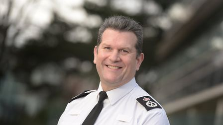 Former chief constable Gareth Wilson has been given a QPM Picture: SARAH LUCY BROWN