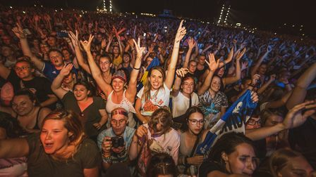 More than 150,000 people saw Ed Sheeran perform in Chantry Park in 2019 Picture: ZAKARY WALTERS