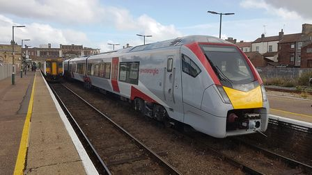 The train from Lowestoft was cancelled because of a problem with the speedometer. Picture: PAUL GEAT