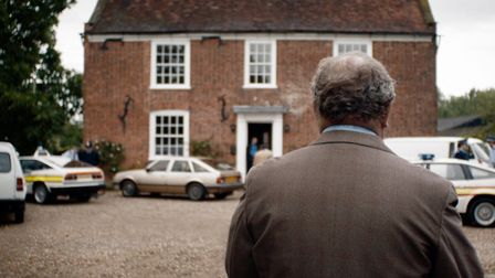Mark Addy as DS Stan Jones in the new drama White House Farm Picture: ITV