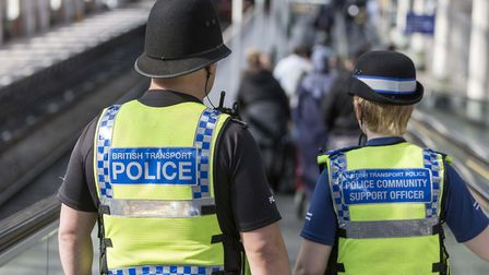 British Transport Police have seen an increase in the number of incidents reported in Suffolk and Es