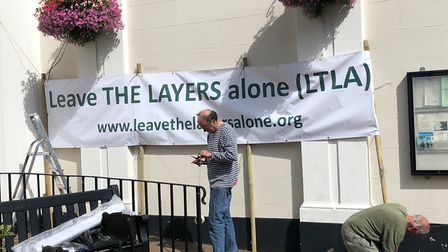 Proposals for a garden neighbourhood in Saxmundham provoked opposition Picture: LTLA