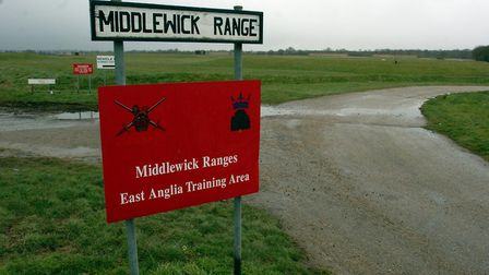 Colchester Borough Council is looking to redevelop Middlewick Ranges Picture: CLIFFORD HICKS