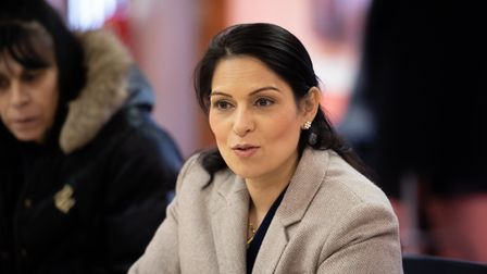 Home Secretary Priti Patel MP has hit back at the Environment Agency after they approved proposed pl