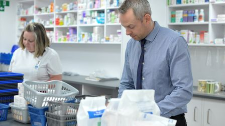 When will pharmacies in Suffolk and north Essex be open on Christmas Day, Boxing Day and New Year's