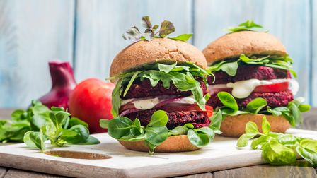 Vegan burgers are on the rise Picture: Getty Images/iStockphoto