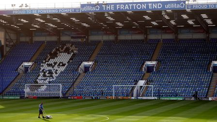 Portsmouth are unbeaten at Fratton Park in the league this season. Photo: PA