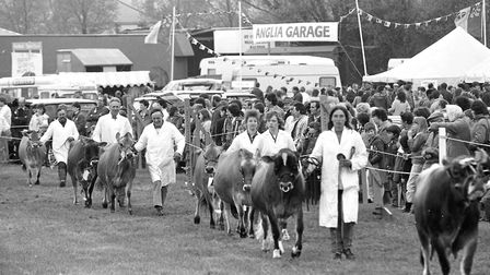 Do you remember the Hadleigh Show in 1986? Picture DAVID KINDRED