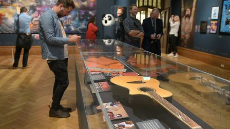 Ed Sheeran, Made in Suffolk exhibition at Christchurch Mansion is open free of charge well into the