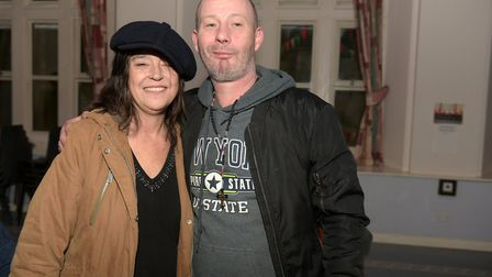 Janice Blows and Phil Broad are homeless and say the drop in centre has saved their lives Picture: