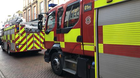 Fire services have been called to three incidents on Christmas morning (stock picture). Picture: JAK