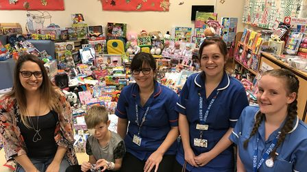 Nurses will be working around the clock on Christmas Day. Picture: LAUREN DE BOISE