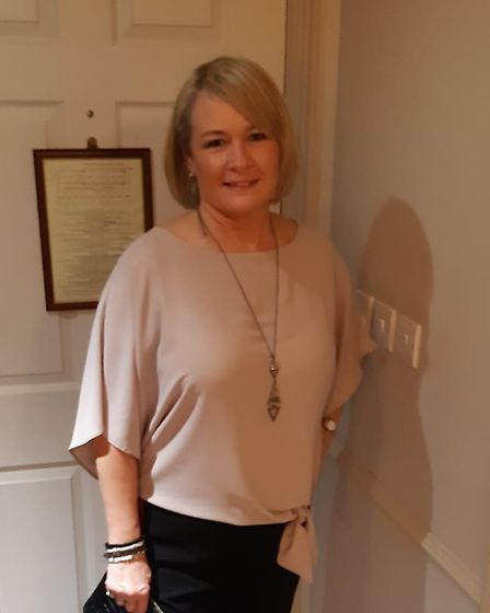 Lorraine Mohammed will be working Christmas evening at the Sue Ryder care home. Picture: LORRAINE MO