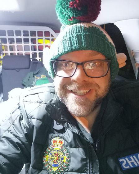 Nick Williams is an advanced aaramedic working in Ipswich for the East of England Ambulance Service