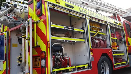 A fire has broken out at a building in Finningham. (Stock photo) Picture: RACHEL EDGE