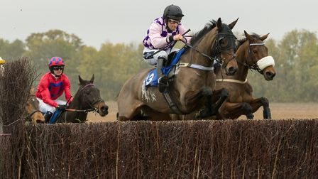 Undisputed and Alex Edwards, winners at Cottenham last time out, are back in action again. Picture: