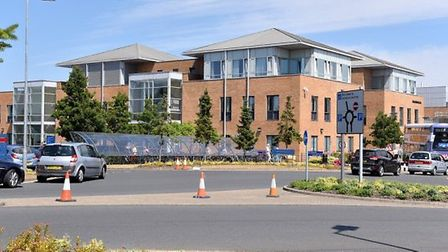 Norfolk and Norwich Hospital Trust is training staff on county lines warning signs Picture: Nick But
