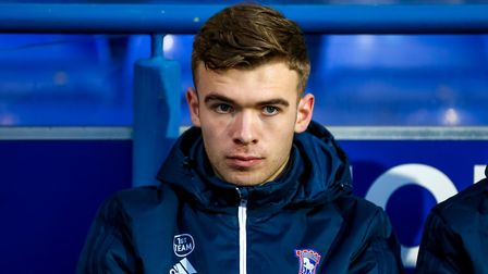 Aaron Drinan has been an unused substitute on five occasion for Ipswich. Picture: STEVE WALLER
