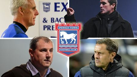 Mick McCarthy, Roy Keane, Paul Jewell and Paul Hurst all managed Ipswich Town during the last decade