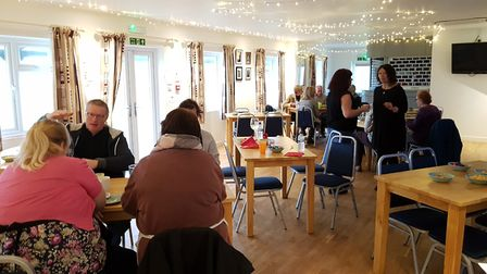 The lunch was held at the Cricket Club in Hadleigh Picture: RACHEL EDGE
