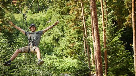 Go Ape is one of East Anglia's most adventurous days out Picture: GO APE