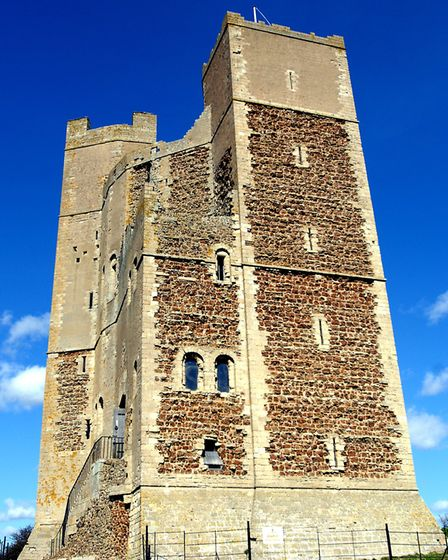 Orford Castle Picture: SARAH LUCY BROWN