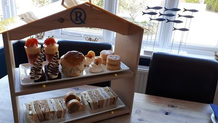 Afternoon tea at The Randolph, Southwold