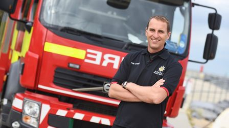 Suffolk's chief fire officer Mark Hardingham said he is pleased with the latest report Picture: GR
