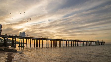 Felixstowe's pier is one of the town's main attractions Picture: TIM GARRETT-MOORE