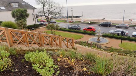 The seafront gardens in Felixstowe were renovated in 2015 in a multi-million pound project Picture: