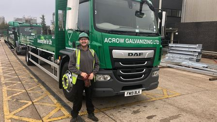Acrow Galvanizing is switching to new livery for its busy fleet of trucks Picture; WEDGE GROUP GAL