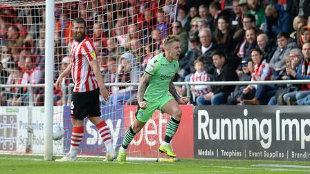 Sammie Szmodics scored 40 goals during his career as a Colchester United player. Picture: STEVE WAL