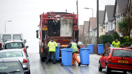 Remember to check your changed bin collection dates over Christmas. Picture: ARCHANT