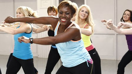 There are lots of classes for you to choose from including aerobics, kettle bell training and zumba