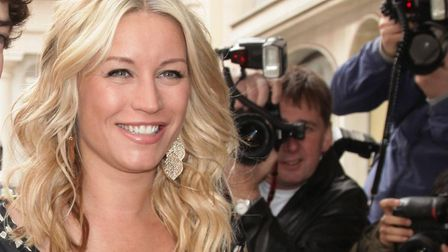 Denise Van Outen turned on the Chelmsford Christmas lights in 2017. File Photo: Yui Mok/PA Wire