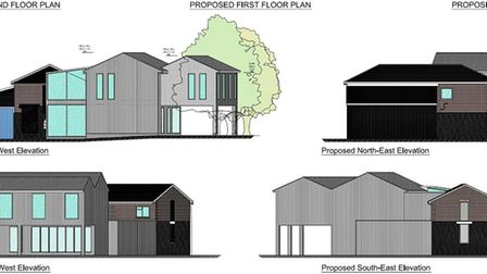 This is what the new extension would look like if plans for expansion go ahead for the 5th Woodbridg