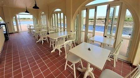 A look inside The Island cafe at Great Yarmouth with hopes for transforming the Pavilion at Woodbrid