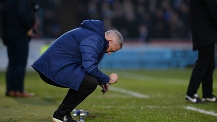 Ipswich manager Paul Lambert is frustrated with the officials at Wycombe Wanderers Picture Pagepix