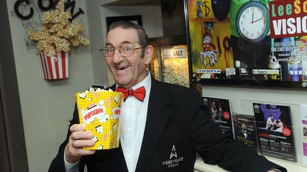 Former Abbeygate Cinema manager Pat Church could be heading down to London for the BAFTA awards cere