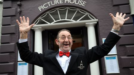 Pat Church celebrates 50 years at the Abbeygate Cinema Picture House in Bury. Picture: ARCHANT