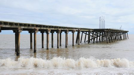 The Claremont Pier in Lowestoft has been closed for January and put into temporary liquidation, ahea