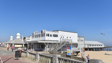 The Claremont Pier boasts a range of businesses including a restaurant, roller skating venue and caf