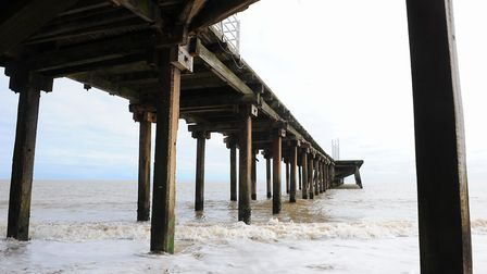 It is hoped the Claremont Pier's new owner will extend the existing structure to its original 600ft