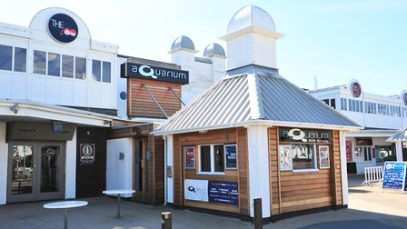 The Aquarium is one of the businesses operating at the Claremont Pier. Picture: NICK BUTCHER