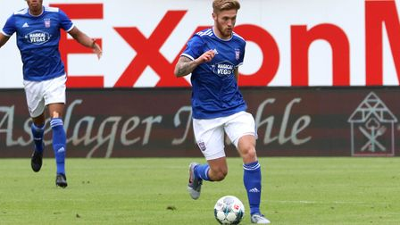Teddy Bishop suffered a medial knee ligament injury during the pre-season tour of Germany. Photo: Ro