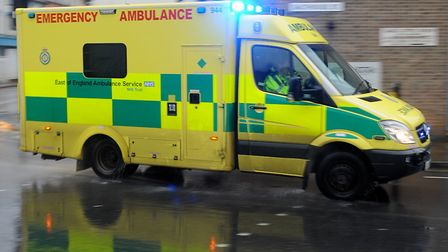 A person has been taken to hospital following a crash on the A14 Picture: ARCHANT