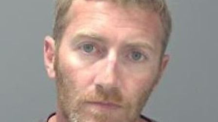 Dean Thomas, of Framlingham, who has been jailed for 16 years for grooming and raping two young girl